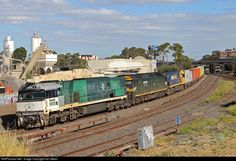 NR85 Pacific National NR class at Albion, Melbourne, Australia by Ian Green