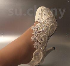 Schlichte Schuhe verschönern