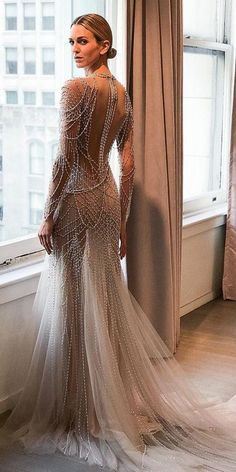 60f507db10f 330 Best Sparkly Wedding Dresses images in 2019