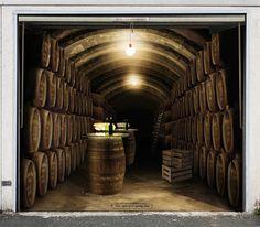 My Wine Cellar Garage. Garage Door Murals.