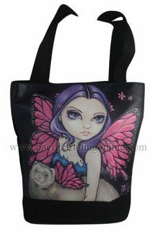 Ferret with Wings Handbag
