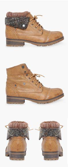 Cute fold down boots