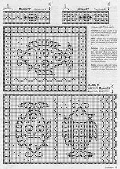 Kira scheme crochet: Scheme crochet no. 1627