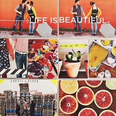 Colorful.  #projectlife