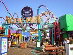 Santa Monica et Venice Beach, Los Angeles, California Venice Beach California, California Beach Camping, California Vacation, California Dreamin', Santa Monica Pier, Santa Monica Boardwalk, Usa Tumblr, Vacation Spots, Vacation Trips