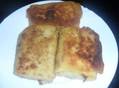 Krokiety z mięsem mielonym i serem French Toast, Food And Drink, Pizza, Cheese, Breakfast, Recipes, Eat Lunch, Morning Coffee, Recipies