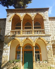 Research about the Lebanese Traditional Architecture, its Origins, and Components; it is divided into four related parts. Read more on the link below. Stone Cottage Homes, Red Brick Tiles, Transformation Images, Beirut Lebanon, Castle House, Old Building, Architecture Plan, Traditional House, Old Houses