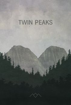 Twin Peaks Poster (8x10, 11x14, 11x17, or 13x19) TV by missingtime on Etsy