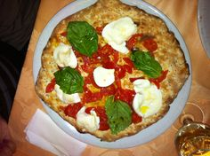 #Sprintage eat #Pizza with only products of our land #Campania made in #Braciere of Agnano di Napoli