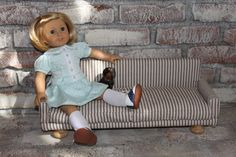 """MADE: Pieces For Reese: 18"""" Doll: Upholstered Sofa - Part 3"""