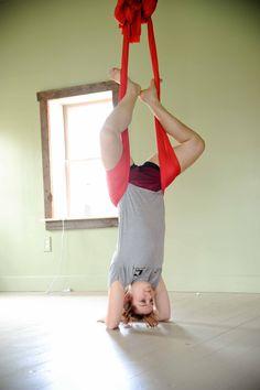 #yoga, #aerial, #inversion, #moyo