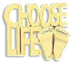 Gold Tone Metal Choose Life Pro Life Movement Supporters Lapel Pin Fashion Accessory Religious Christian Mens Womens Gift 3/4 Inch Gold Tone Metal Choose Life Pro-Life Movement Supporters Lapel Pin Fashion Accessory, manufactured by a Catholic owned and operated company with a heritage rich in tradition and a commitment to offering the finest selection of religious products.   #gold #Shop #Religious #mens bangle bracelets gold #womens bracelets silver #stacking bracelets #