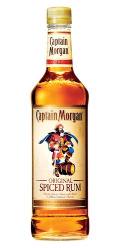 Captain Morgan (blend of Caribbean rums) as a smooth and medium bodied spirit - perfect for mixing with cola.