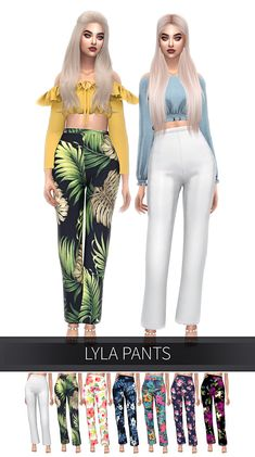 FROST SIMS — frostsims4: LYLA PANTS 15 Swatches...
