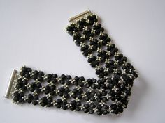 rulla beads pattern | Bracelet with the new Rulla Beads. The tutorial is available in my ...