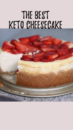 This really is the best low carb and keto cheesecake. Even my non-keto family proclaimed This is the best cheesecake I have ever had! This really is the best low carb and keto cheesecake. Even my non-keto family proclaimed Desserts Keto, Keto Friendly Desserts, Keto Snacks, Dessert Recipes, Dinner Recipes, Desserts For Diabetics, Keto Sweet Snacks, Low Sugar Desserts, Diabetic Snacks