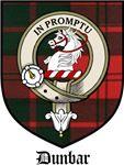 Dunbar Clan Crest Tartan