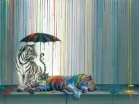 """""""Catnap"""" by Michael Summers is one of his most popular Fine Art Limited Edition paintings!"""