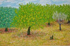 Limonero. Óleo sobre lienzo. 2008. 100x65cm 290€