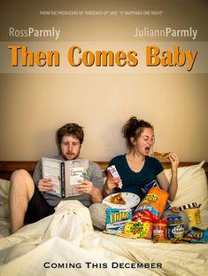Anunciar el #embarazo como una película ;) - vía Pintando una mamá