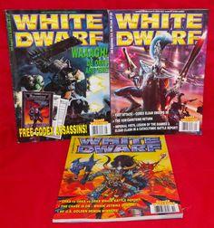 White Dwarf No. 235 No. 236 No. 237 Games Workshop Monthly Hobby Magazine Lot #WhiteDwarf
