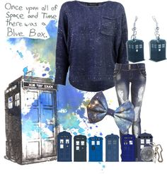 """""""TARDIS"""" by stormifish on Polyvore - Doctor Who"""
