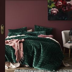 Home Republic - York Quilted Quilt Cover - Bedroom - Quilt Covers & Coverlets - Home Republic - Adairs Online
