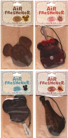 Disney has recently come out with new Theme park snack inspired air fresheners! Including the Turkey leg!