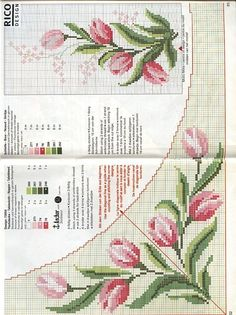 This Pin was discovered by Ays Free Cross Stitch Charts, Cross Stitch Pillow, Stitch Book, Cross Stitch Borders, Cross Stitch Designs, Cross Stitching, Cross Stitch Patterns, Butterfly Cross Stitch, Beaded Cross Stitch