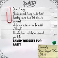 #Friday, #Weekend, #creative