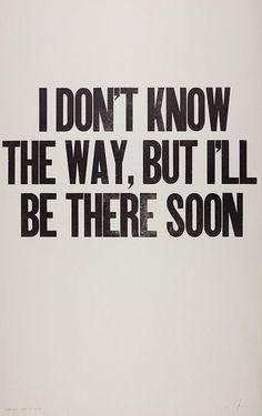 """""""Perder-se também é caminho"""" (Clarice Lispector)"""