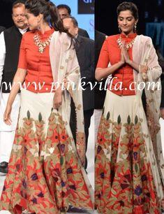 Sonam Kapoor dons Anamika Khanna | PINKVILLA