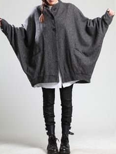 WOOL-POLYESTER COAT WITH FLEECE LINING - JACKETS, JUMPSUITS, DRESSES, TROUSERS, SKIRTS, JERSEY, KNITWEAR, ACCESORIES - Woman