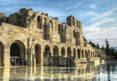Ωδείο Ηρώδου του Αττικού, Αθήνα Odeon of Herodes Atticus, Αthens photo by K.Ladas