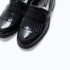 FRINGED PENNY LOAFER-Flats-Shoes-WOMAN | ZARA United States