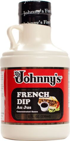 Johnny's French Dip Au Jus Concentrated Sauce - 8 Fl Oz - Tac City Goods Co