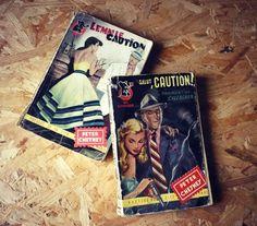 Lot de 2 livres de poche - Roman Criminel - Peter Cheney - French books - 1950 de la boutique SaintFrusquin sur Etsy