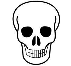 Free Printable Pictures Of Skulls Fileskull Iconsvg Wikimedia