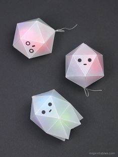 Ghost Boxes for Halloween Treats - Mr Printables
