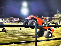 That's one awesome Monster truck show