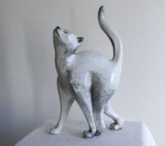 Découvrez ici mes sculptures animalières en RAKU. Sauf mention particulière, toutes les oeuvres sont des pièces originales et uniques en terre (grès)