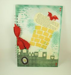 Large A4 Handmade Scrapbook Album or Journal, The Wizard of Oz £13.50
