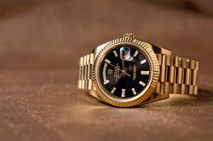 Rolex Watches For Men, Fine Watches, Cool Watches, Dream Watches, Luxury Watches, Gold Rolex, Gold Chains For Men, Vintage Rolex, Beautiful Watches