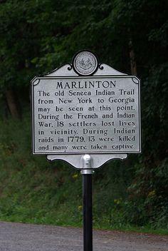 Marlinton Historical Marker (2) | Flickr - Photo Sharing!