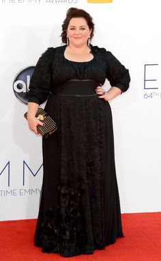 Melissa McCarthy wearing Daniele Jurrle at the 2012 Emmys.