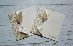 Elegáns arany esküvői meghívó - elegant gold wedding invitation