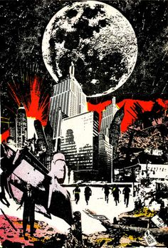 Art by Jim Steranko, arguably the first comic illustrator rock star