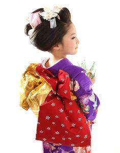 立て矢結び(3) Shichigosan Kabuki Costume, Wedding Kimono, Kids Laughing, Asian Kids, Oriental Fashion, Japanese Outfits, Historical Costume, Yukata, Japanese Kimono