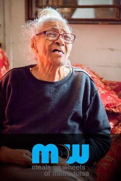 Why we do it...  #mealsonwheels #tulsa #charity #love #service #seniors