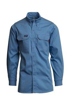 ddd3fd05 16 Best Men's FR Uniform Shirts images in 2018   Button down collar ...